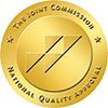 The Joint Commission National Quality Approval gold transparent
