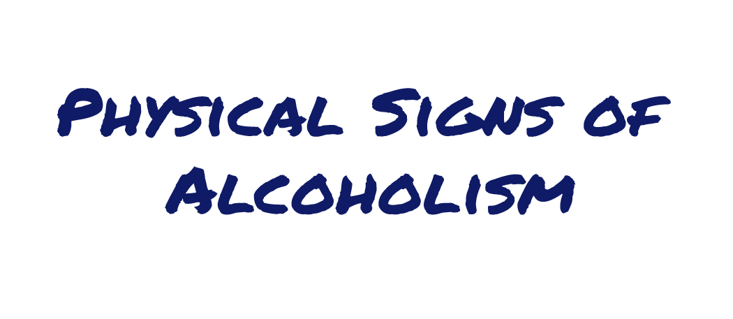 Physical Signs of Alcoholism Infographic