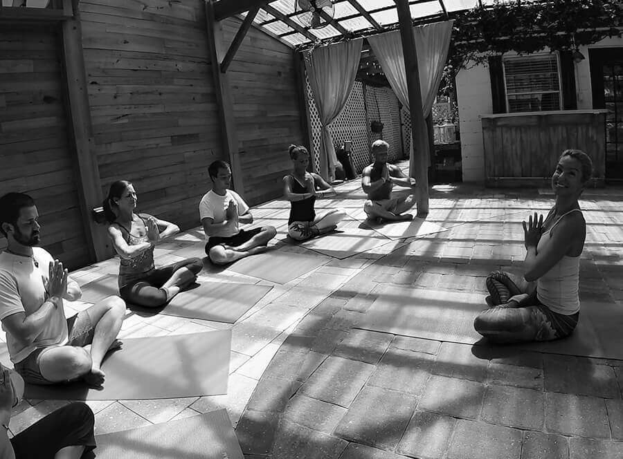 meditation at Beaches Recovery HOME