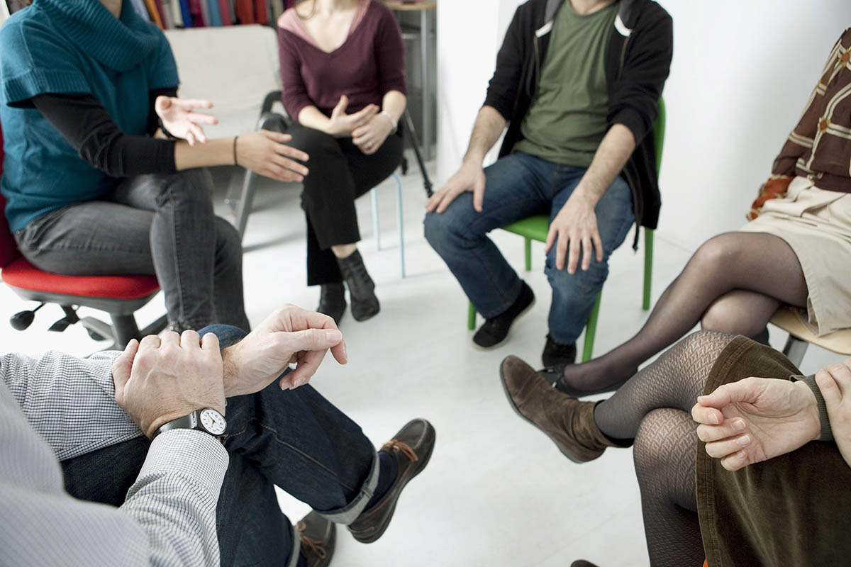 example of group therapy for addiction