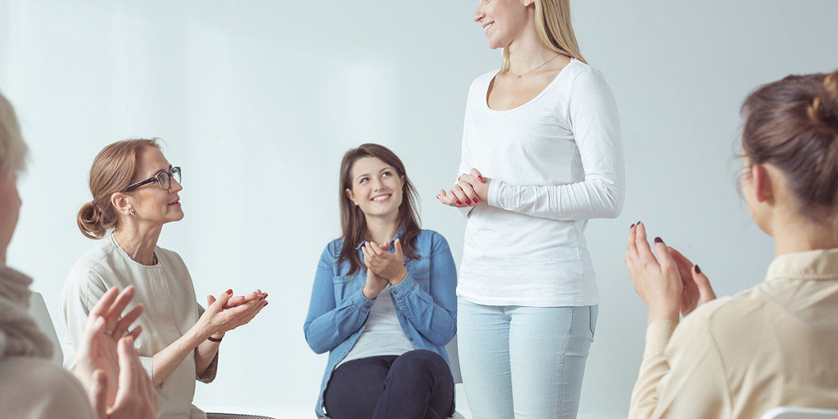 women showing the benefits of gender specific therapy